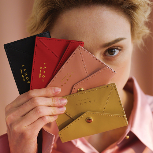 ┃LAMOE┃ MOLLY CARD WALLET4color