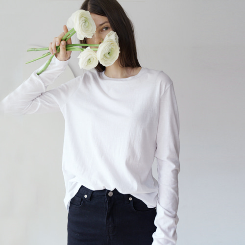 ┃MORE H.┃ 18 SPRING LONG SLEEVE T-SHIRTS5color
