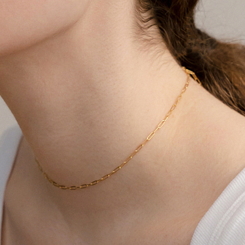 ┃NINETEEN TWO┃ GOLDFILLED CHAIN NECKLACEgold