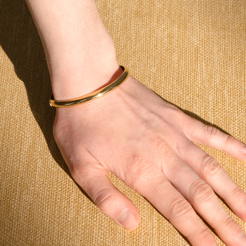 ┃NINETEEN TWO┃ VOLUME BANGLEsilver,gold