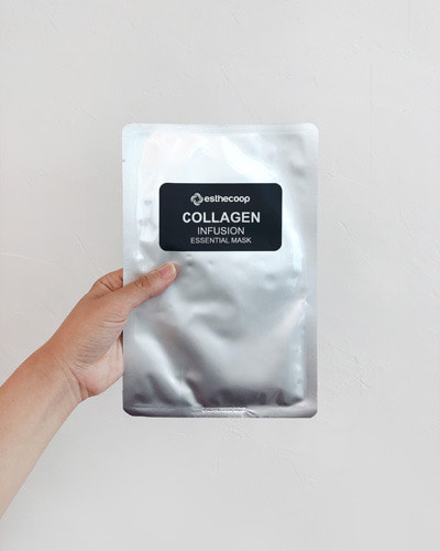 ESTHECOOP collagen infusion essential mask