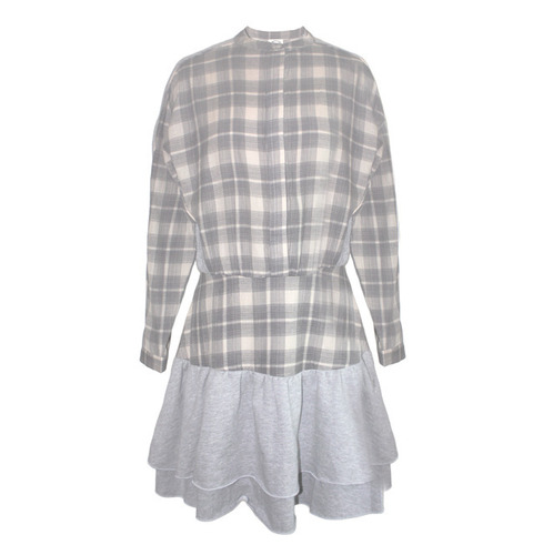 [DRESS GALLERY]TANGO SHIRTDRESSIN GREY