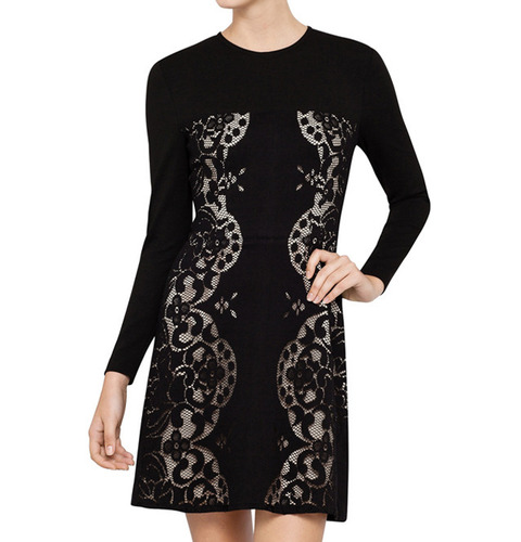 [LOVER]REFLECTION MINI DRESSIN BLACK
