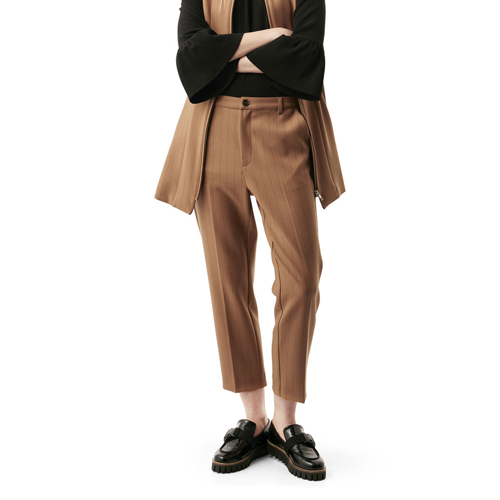 ┃GANNI┃ MOSCOW TAILOR PANTStobacco brown