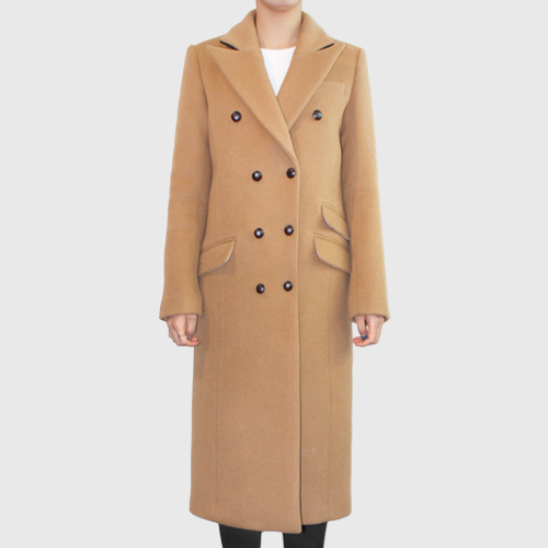 ┃JO5┃ SIGNATURE COUBLE COATcamel
