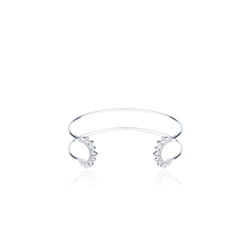 ┃QUEEN ANNES LACE┃ NOUVEAU OPEN BANGLE