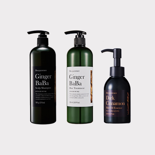 ┃DEEP;ERENCE┃ GINGER BABA HAIR 3SET 500g+500ml+120ml