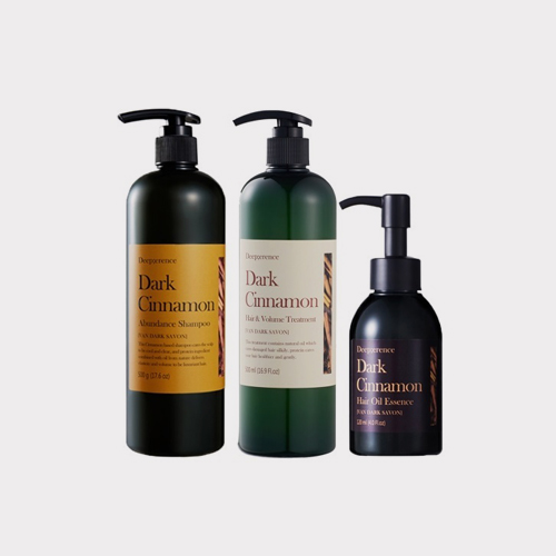 ┃DEEP;ERENCE┃ DARK CINNAMON HAIR 3SET 500g+500ml+120ml