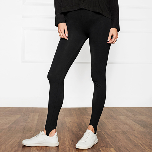 ┃ANINE BING┃ LEGGINGS WITH STIRRUPSblack