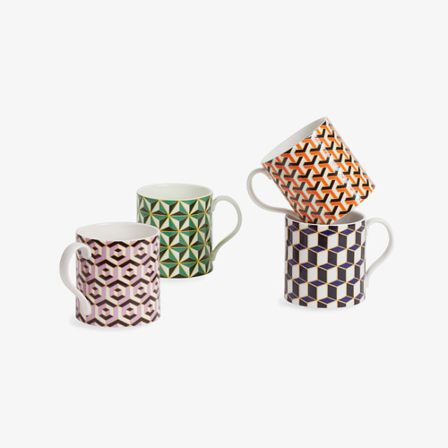┃JONATHAN ADLER┃ CARNABY MUGS4color