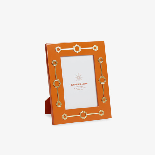 ┃JONATHAN ADLER┃ TURNER FRAME 5X7orange