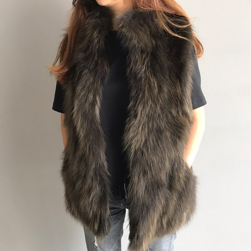 ┃FROU EDITION┃  RACCOON REX VEST2color