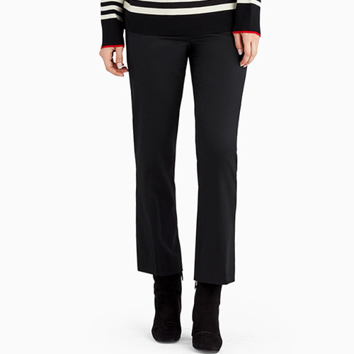┃GREY JASON WU┃ CIGARETTE PANT WITH TOP STICH DETAILblack