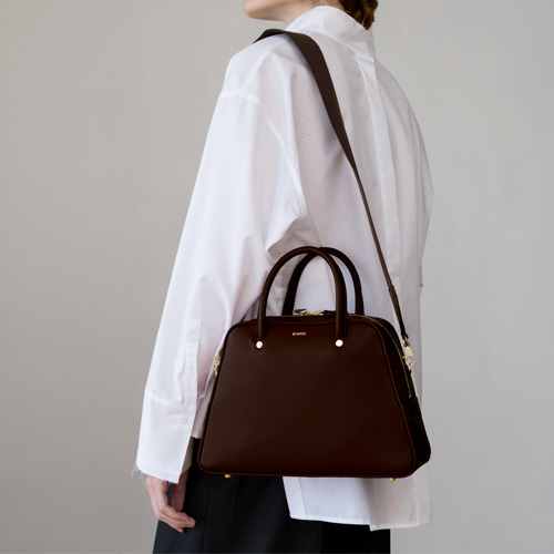 ┃DE MERIEL┃ CITY BAGchoco brown