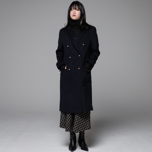 ┃JO5┃ BOY LONG COATnavy