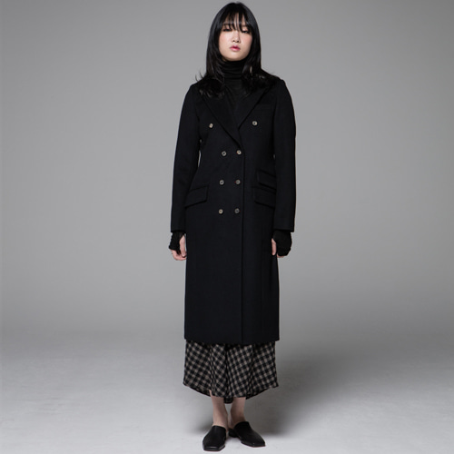 ┃JO5┃ SIGNATURE DOUBLE COATblack