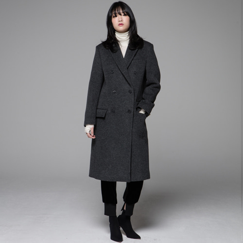 ┃JO5┃ BOY LONG COATcharcoal