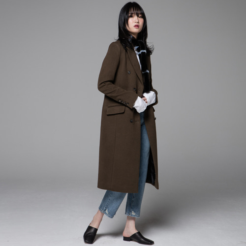 ┃JO5┃ SIGNATURE DOUBLE COATkhaki