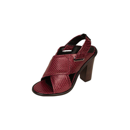[TIBI]Cleo heelin Wineberry