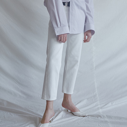 ┃MAISON MARAIS┃ WHITE WAVE DENIMwhite