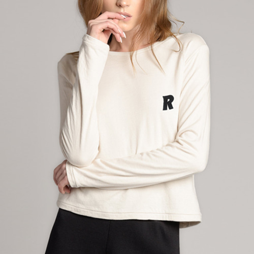 ┃RAGDOLL┃ BABY LONG SLEEVE TEEbone white