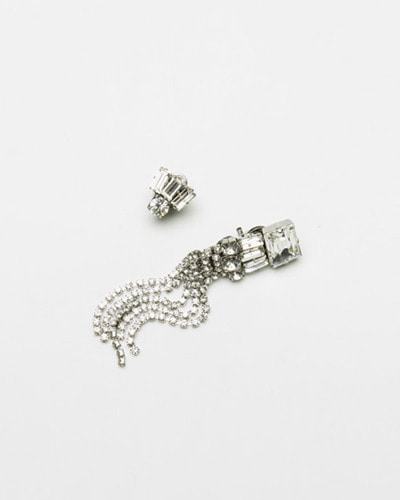 ┃RADA┃ R6826 CP GUNMETALearrings