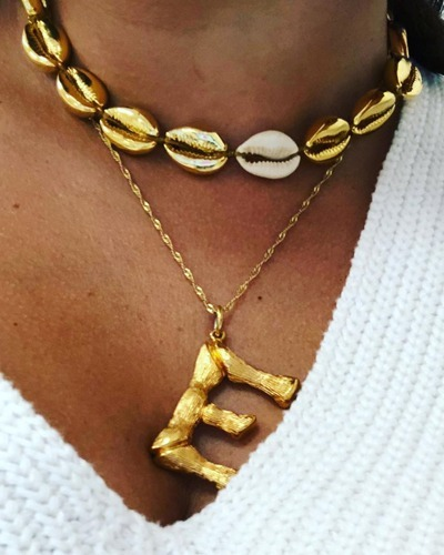 TOHUM necklace gold