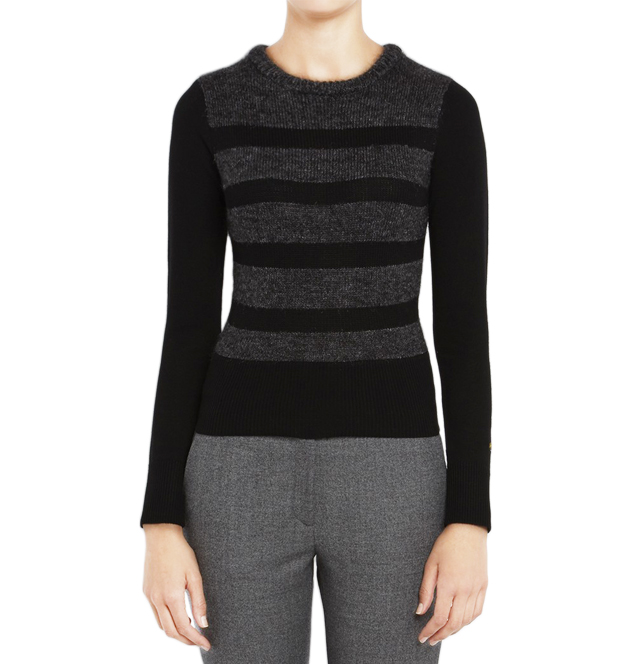 [BELLA FREUD]GLAM ROCK STRIPE SWEATERIN BLACK
