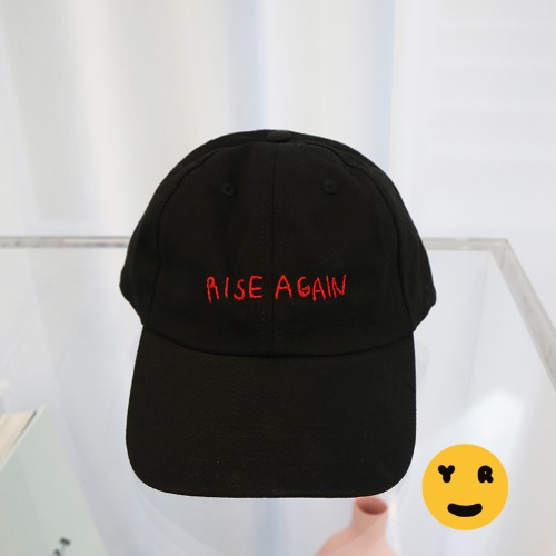Yeah Right NYC Dad hat - Rise again